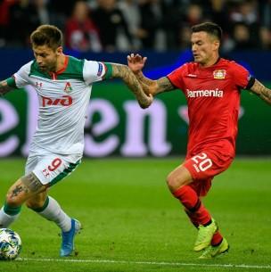 Sigue el partido del Bayer Leverkusen ante Rangers por octavos de Europa League ¡Charles Aránguiz titular!
