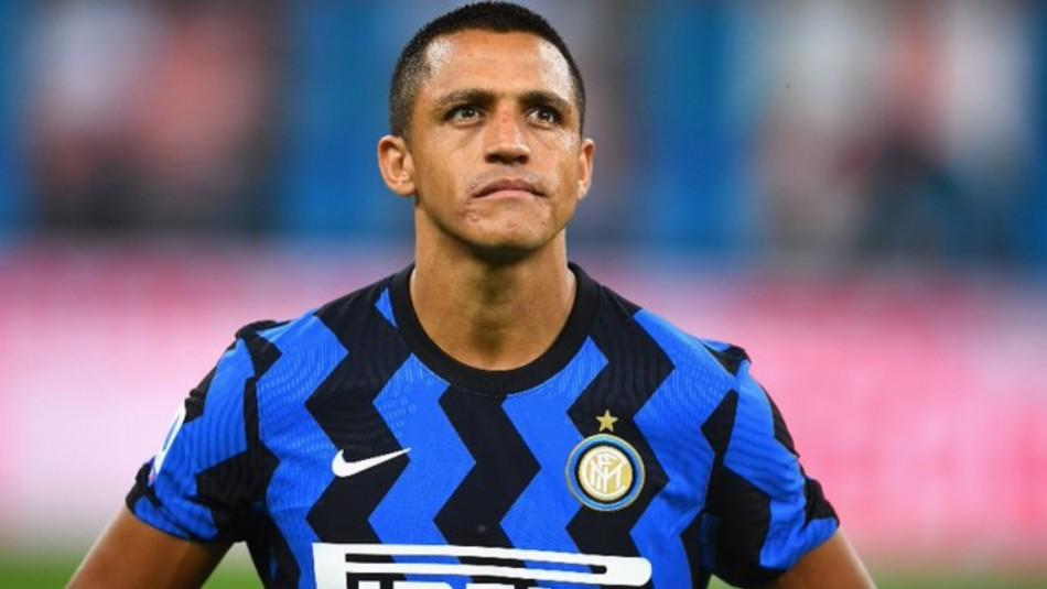 Inter de Milán oficializa continuidad de Alexis Sánchez hasta el 2023