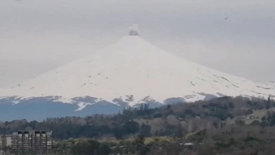 Video muestra a Volcán Villarrica en pleno pulso eruptivo