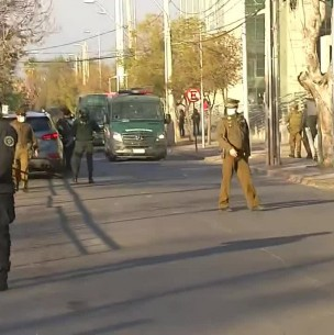 Caso Ámbar: Hugo Bustamante llega a Cárcel de Alta Seguridad de Santiago