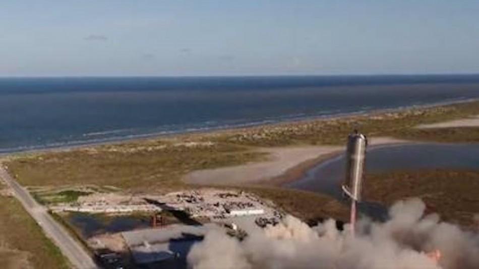 Marte cada vez más cerca: Prototipo Starship SN5 de SpaceX supera con éxito primera prueba de elevación