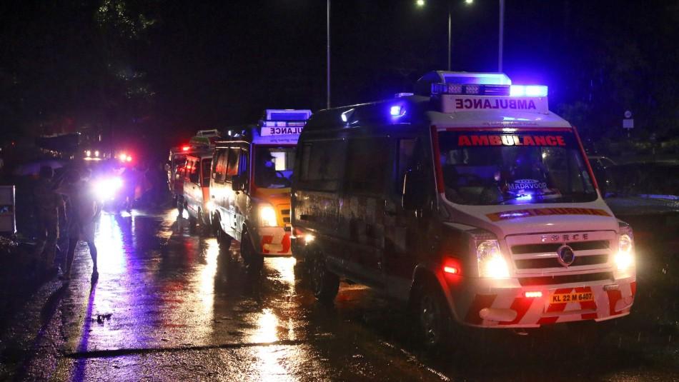 Avión se estrella en la India con 191 pasajeros: Habrían 14 muertos