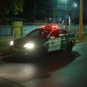 Arrestan a tres sujetos por amenazar de muerte a vecino y disparar en Las Condes