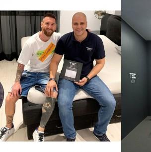 Cómo funciona y el valor del colchón anticoronavirus que adquirió Lionel Messi