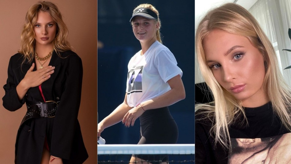 Dayana Yastremska, la rapera del tenis.