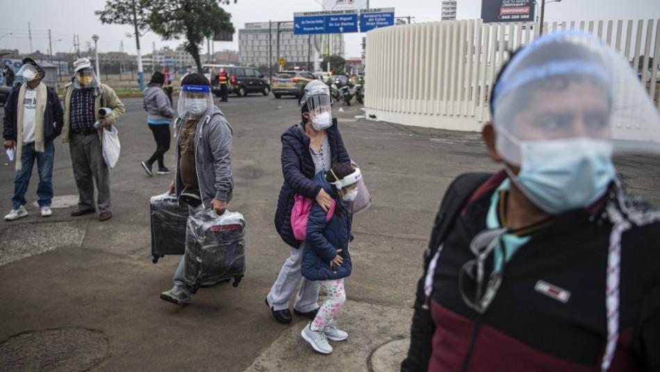 Perú registra récord de 8.466 contagios y 225 decesos por coronavirus