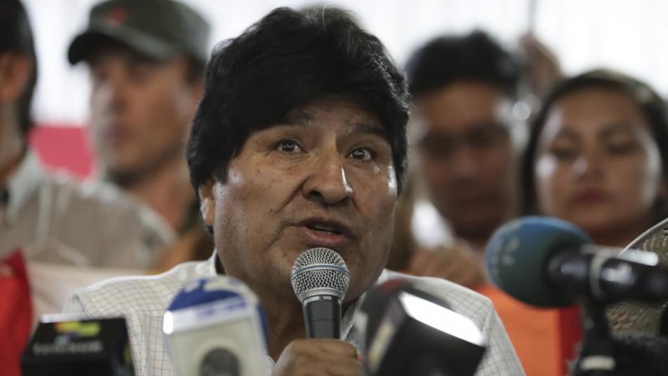 Evo Morales asegura que se gesta un golpe de Estado en Bolivia