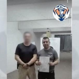 Caso Ámbar: Filtran fotografía de Hugo Bustamante junto a profesor de tiro en el año 2019