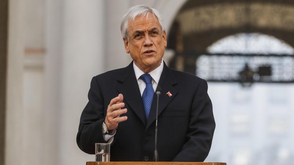 Presidente Piñera y situación en La Araucanía: