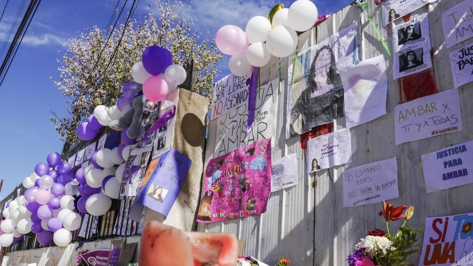 Velatón por Ámbar Cornejo: Cercanos expresaron su apoyo a la familia y pintaron un mural