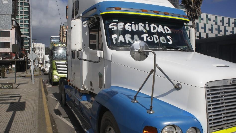 Camioneros avisan al Gobierno sobre paro nacional: