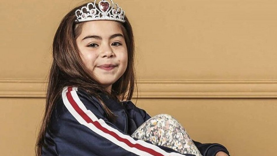 Los cambios de la pequeña actriz Magdalena Urra: Desde