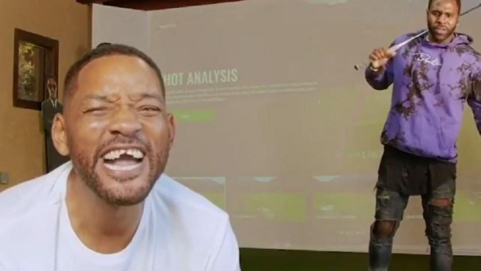 Will Smith queda sin dientes tras recibir golpazo con palo de golf del cantante Jason Derulo