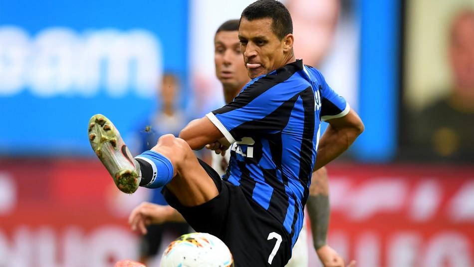 Alexis Sánchez busca triunfo con Inter en la Europa League.