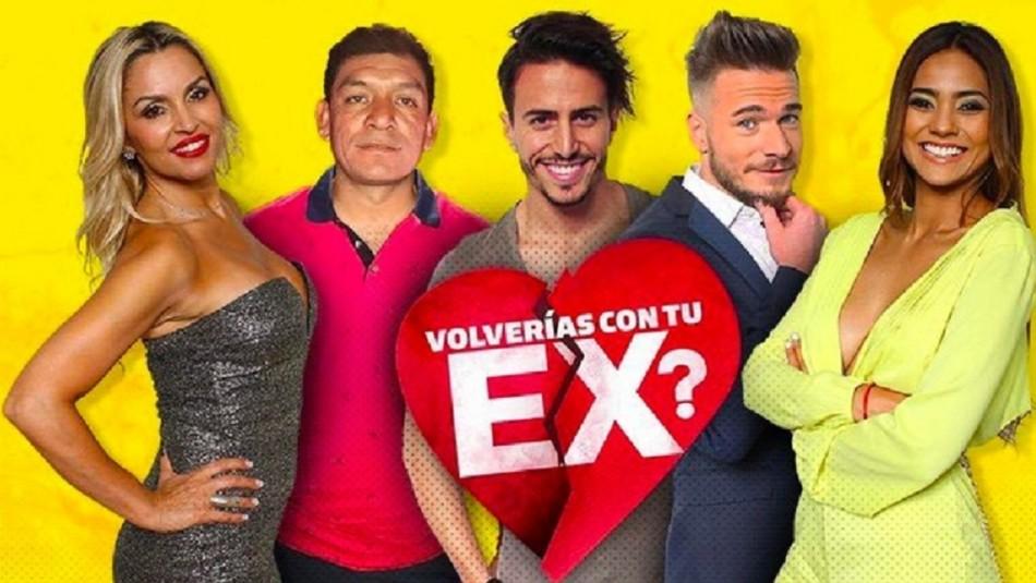 ¿Volverías con tu ex?: Reality vuelve a las pantallas de Mega