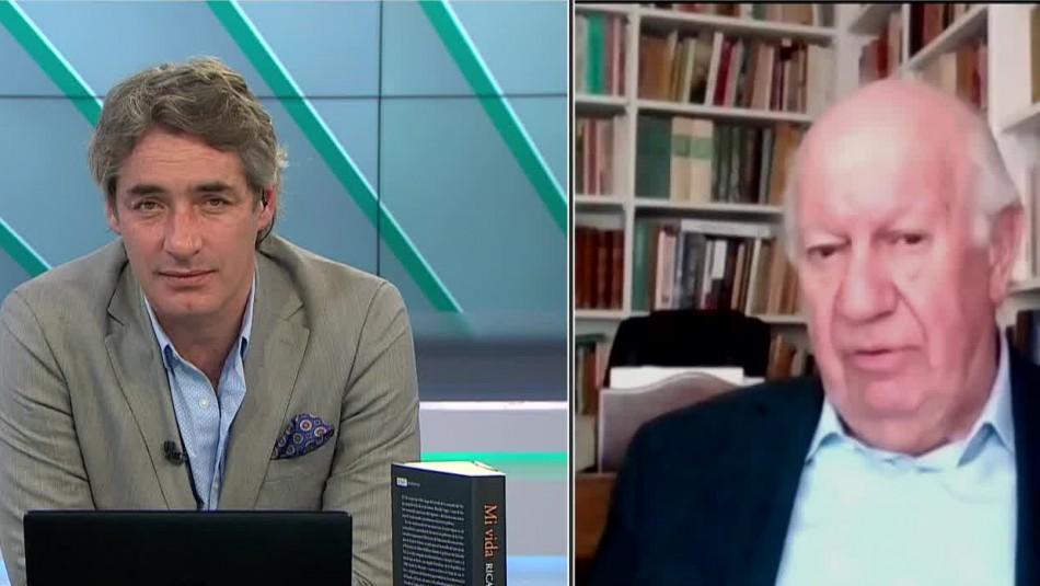 Entrevista al exPresidente Ricardo Lagos en Meganoticias Alerta