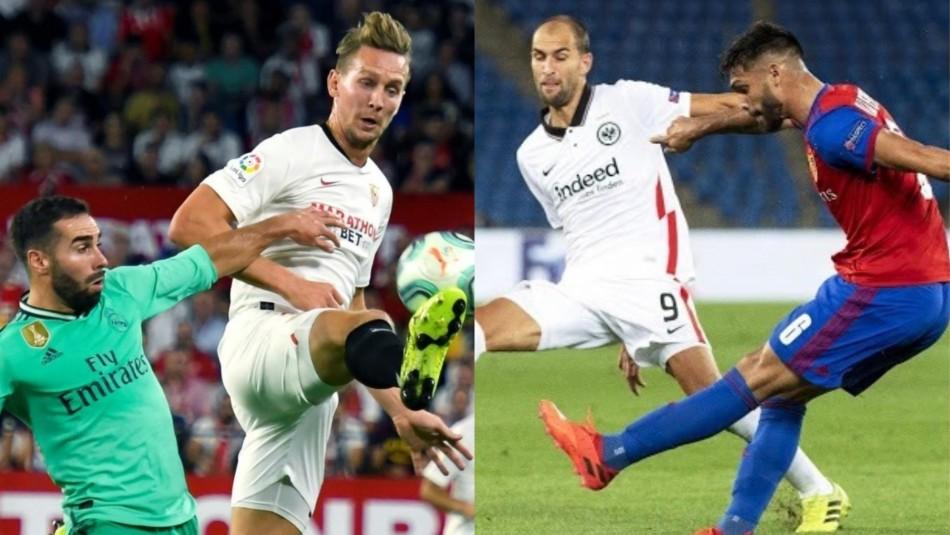 Se juegan los cuartos de Europa League.