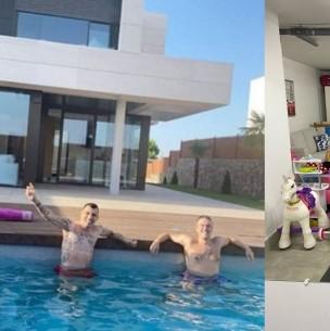 Gary Medel ya disfruta de su nueva casa en España y recibe felicitaciones de exseleccionados de la Roja