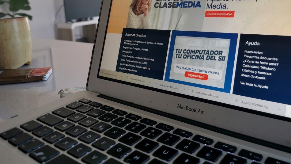 SII explica diferencias en promedio de renta al solicitar bono de 500 mil y Préstamo Estatal Solidario