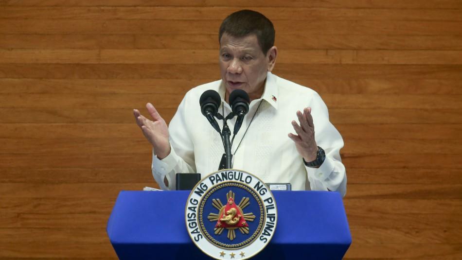 Presidente filipino se ofrece de voluntario para probar la vacuna rusa contra el coronavirus