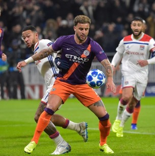 Sigue el partido Manchester City vs. Lyon por cuartos de final de la Champions League