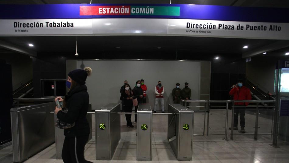 Metro de Santiago: Tras más de 9 meses este miércoles reabrió estación Macul
