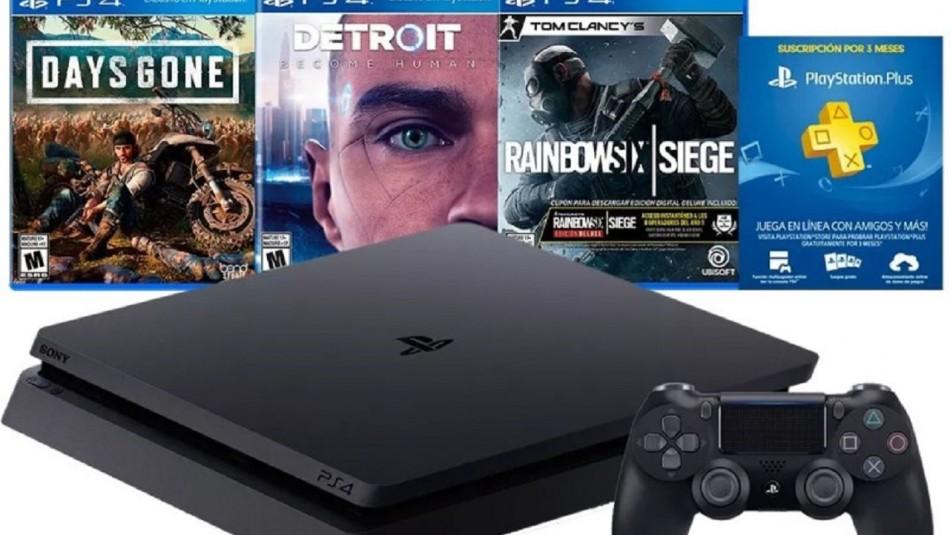 Playstation 4 con grandes ofertas.