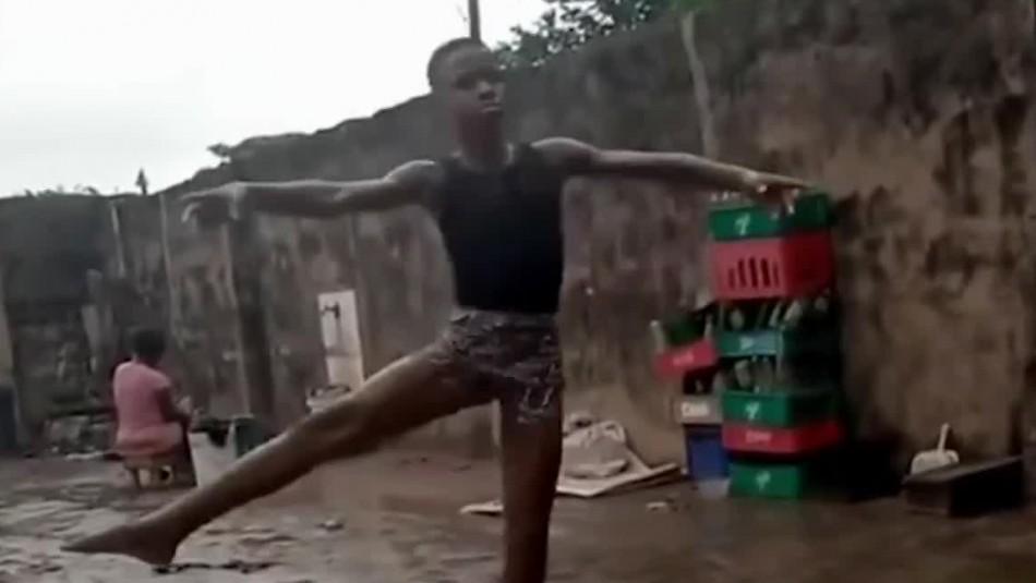 Niño de 11 años de Nigeria gana beca para estudiar ballet en Nueva York tras video viral
