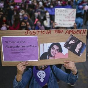 Caso Ámbar: Proponen que desmembramiento e inhumación ilegal sean agravantes del homicidio