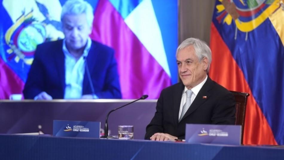 Chile y Ecuador firman Tratado de Libre Comercio que busca beneficiar a pymes