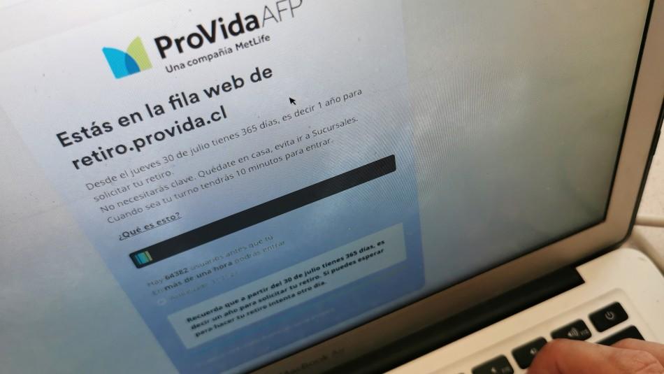 Retiro del 10%: AFP Provida ya pagó el 100% de solicitudes aceptadas hasta el 2 de agosto