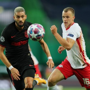 Sigue el partido RB Leipzig vs. Atlético Madrid por cuartos de final de la Champions League