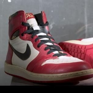 Zapatillas de Michael Jordan se subastan a un precio nunca antes visto