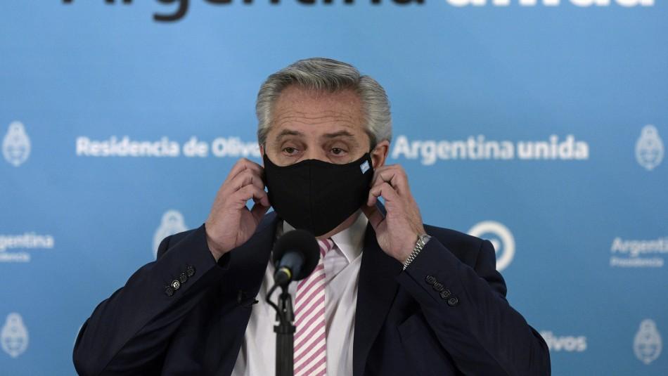 Argentina alcanza los 5.428 fallecidos y extiende restricciones por coronavirus