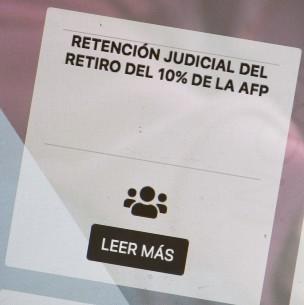Retención del 10% por pensión alimenticia: Solicitan instruir a las AFP para iniciar el proceso