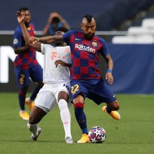 Sigue el partido de Barcelona ante Bayern Munich en Champions ¡Vidal titular y guerra de goles!