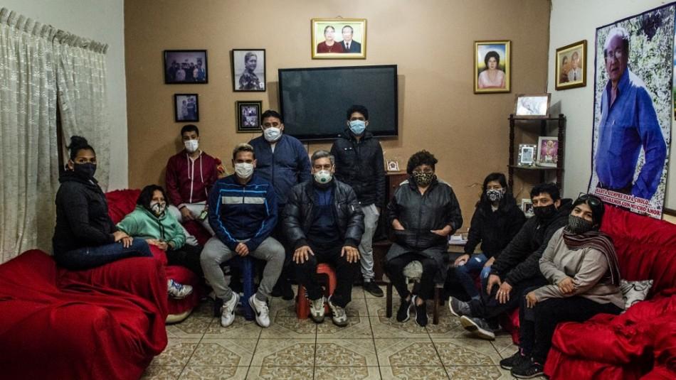 Familia Díaz sufre drama del coronavirus en Perú.