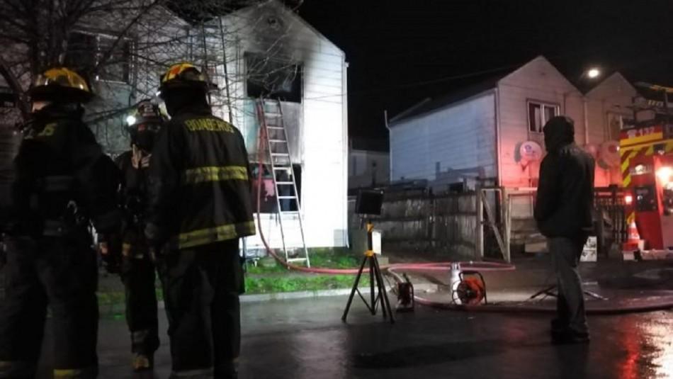 Incendio genera la muerte de menor y su padre en Los Ángeles.