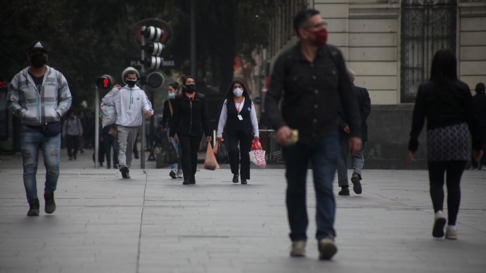 Intendente por etapa de Transición en Santiago y Estación Central: