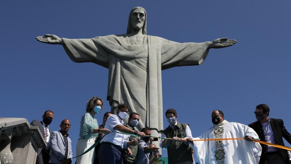Brasil: Reabren el Cristo Redentor tras cinco meses cerrado por la pandemia de coronavirus