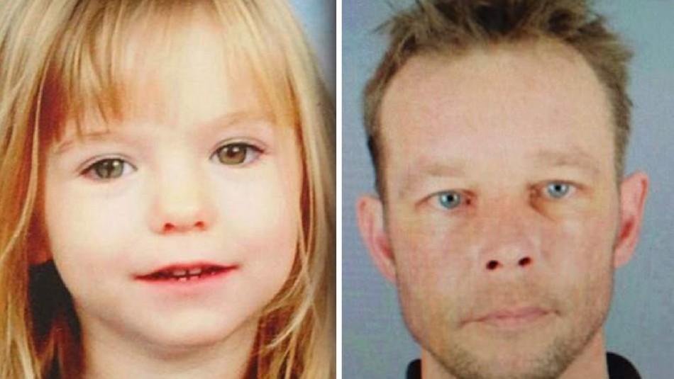 Sospechoso de secuestro de Madeleine McCann es acusado de abusos contra niña de cinco años