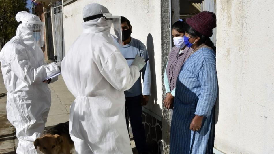 Bolivia supera los 100.000 contagios y tiene más de 4.000 muertos por coronavirus
