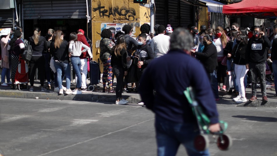 Gran afluencia de público en Barrio Meiggs.