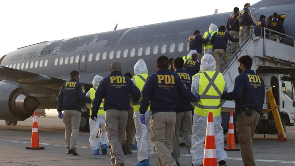 Expulsan a 38 ciudadanos extranjeros detenidos por distintos delitos en el país