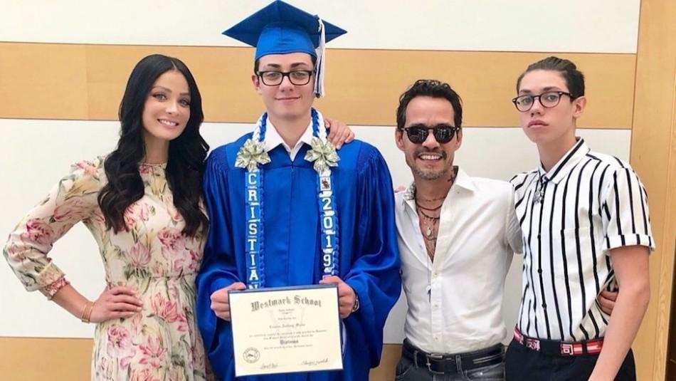 El hijo menor de Marc Anthony y Dayanara Torres cumplió 17 años: Así luce en la actualidad