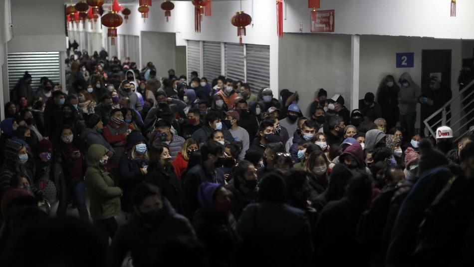 Presidente de CNC y aglomeraciones: Se juntó el desconfinamiento