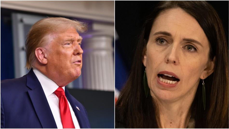 Primera ministra de Nueva Zelanda tilda de falsos comentarios de Trump sobre pandemia en el país