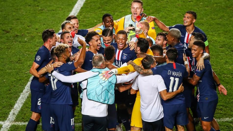 PSG está en la final de la Champions League.