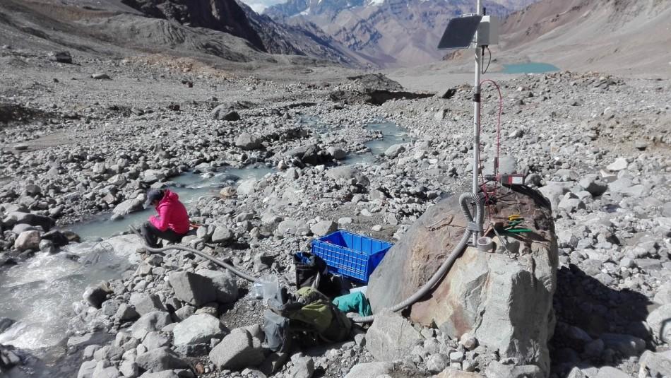Estudio afirma que aportes de glaciares al río Maipo disminuirán hasta en un 75%