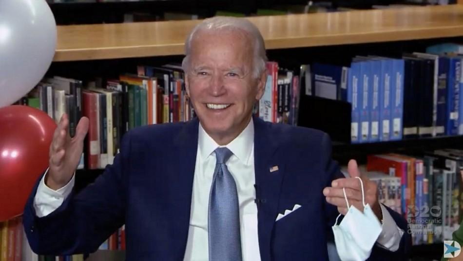Demócratas oficializan a Biden como candidato a la presidencia de Estados Unidos